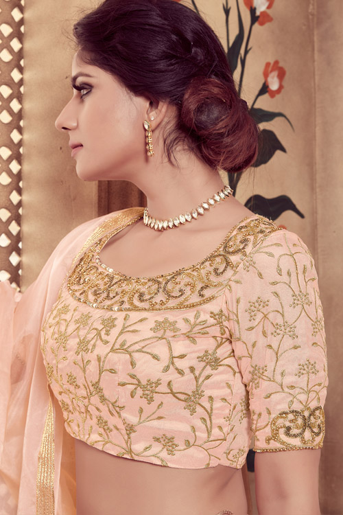 Foil Printed Designer Lehenga Choli Set With Dupatta Collection (4)