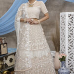 Latest Wedding Wear Net Lehenga Choli For Women (1)