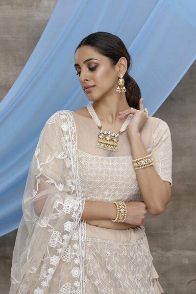 Latest Wedding Wear Net Lehenga Choli For Women