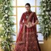 Maroon Color Semi Stitched Exclusive Lehenga Choli