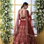 Maroon Color Semi Stitched Exclusive Lehenga Choli (1)
