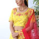 Yellow Exclusive Buy Now Designer Lehenga Choli Collection