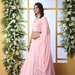 Baby Pink Embroiered Lehenga Choli With Dupatta (1)