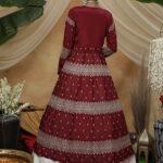 Contrast Lehenga Choli With Long Stylish Koti Collection (1)