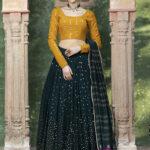 Dark Green Designer Exclusive Traditional Lehenga Choli