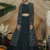 Green Exclusive e Unstithed Koti Style Lehenga Choli Collection