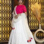 Jacquard Work Exclusive Designer Lehenga Choli Collection (1)