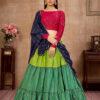 Multi Color Sequince Work Semi Stitched Lehenga Choli Collection