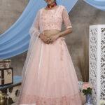Peach Color Exclusive Designer Lehenga Choli Collection (1)
