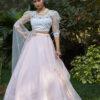 Pink Color Designer Look Lehengacholi With Dupatta Collection