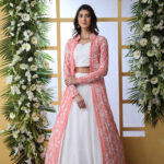 White Exlusive New Stylish Koti Style Lehenga Choli Collection (1)