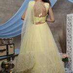 Yellow Thread Embroiderd Designer Lehnega Choli Collection (1)